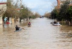 امدادرسانی هلال احمر به ۱۱ نفر در پی بارش شدید باران در ایلام