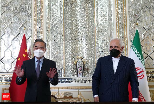 توییت ظریف پس از دیدار مهم با وزیر خارجه چین