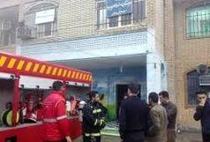 آتش سوزی در ۲ دبیرستان اهواز طی ۵ ساعت/دفتر مدیریت دبیرستان گیت بوستان سوخت