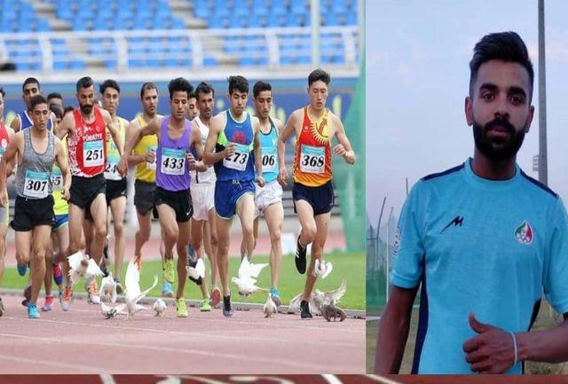 کسب مدال برنز رقابت های بین المللی ترکیه توسط دونده استان سیستان و بلوچستان