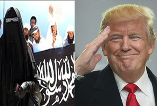 ترامپ آغوش خود را برای یک خانواده داعشی باز کرد + جزئیات