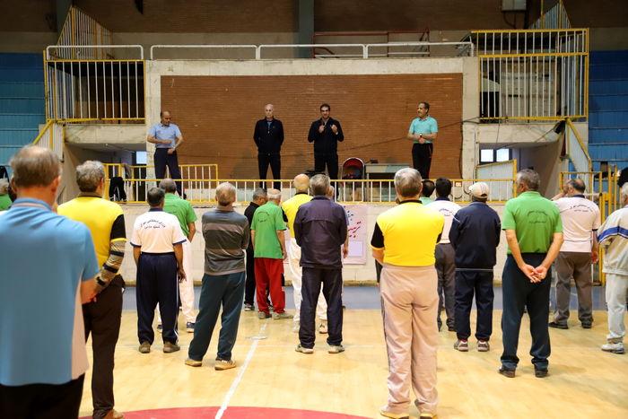 همایش ورزش صبحگاهی کارکنان دولت در بهار برگزار شد