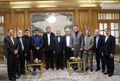 اعضای هیات اجرایی کمیته ملی المپیک با حناچی دیدار کردند