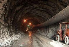 پیشرفت 70 درصدی عملیات اجرایی تونل کبیرکوه