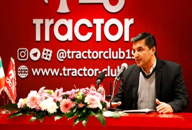 مظلومی: رأی صادر شده ظلم در حق باشگاه تراکتور و هوادارانش است