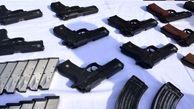 کشف ۳۱ قبضه اسلحه در قصر شیرین