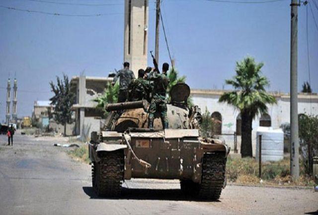 ارتش سوریه به 'مثلث مرگ'در درعا رسید