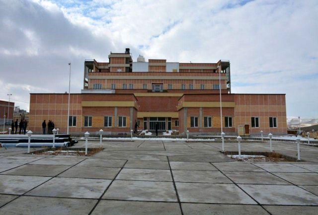 بیمارستان تکاب به زودی افتتاح میشود