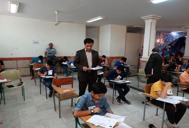 برگزاری آزمون ورودی مدارس نمونه در 17منطقه و شهرستان استان