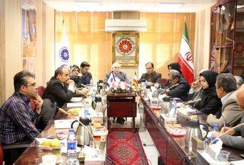 نشست کارگروه شهر و صنعت توسط اتحادیه تولیدکنندگان و صادرکنندگان استان مرکزی