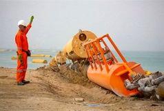 لولهگذاری نخستین خط دریایی پایانه نفتی جاسک پایان یافت