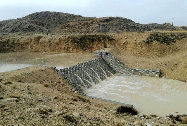 آبگیری سازه های آبخیزداری در استان هرمزگان