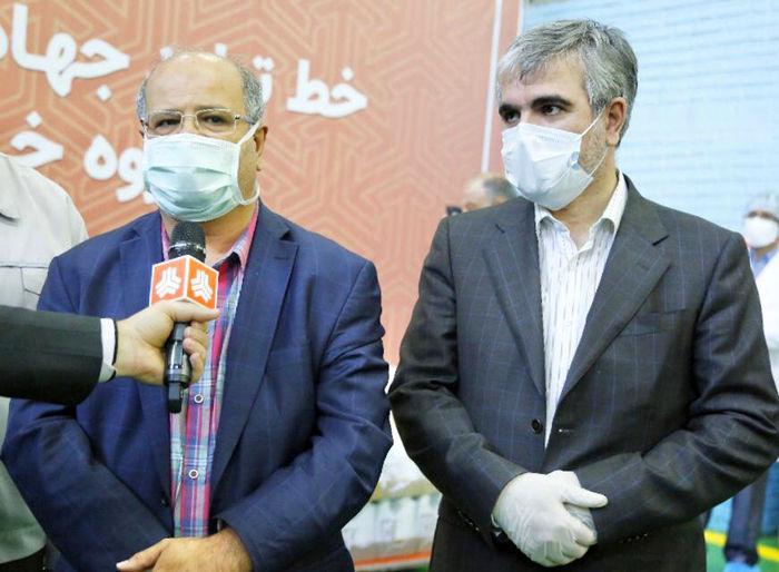 ایجاد دو خط تولید محلول ضدعفونی در سایپا اقدامی جهادی است