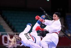 پیروزی سارا بهمنیار ملی پوش گیلانی مقابل قهرمان جهان