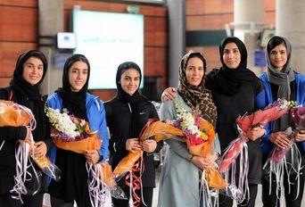 بازگشت تیم ملی کاراته ایران از مسابقات کاراته وان 2020 امارات
