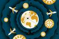 چگونه در سفر با ویروس کرونا مقابله کنیم؟