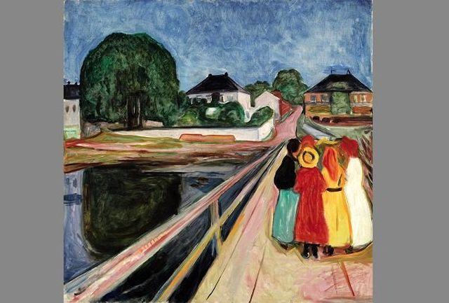 تابلوی مشهور «دختران روی پل» ۵۴.۲ میلیون دلار به فروش رسید