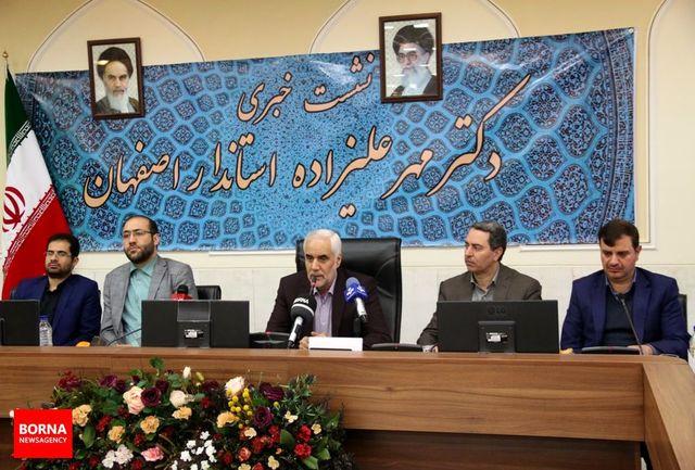 اصفهان رتبه اول تامین و توزیع اعتبارات رفع موانع تولید را کسب کرد