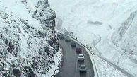 جاده چالوس از ساعت ۱۵ یکطرفه میشود/ تردد در محورهای کوهستانی منوط به داشتن زنجیرچرخ