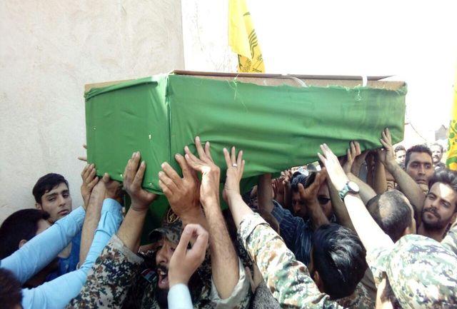 شهید مدافع حرم در پاکدشت تشییع شد