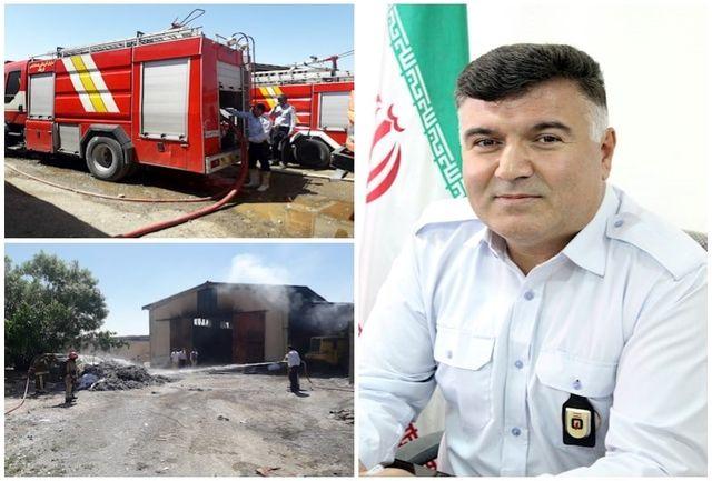 وقوع 171 مورد حادثه و حریق در قرچک/بیشترین حوادث آتشسوزی سطل زباله، ضایعات و نیزار