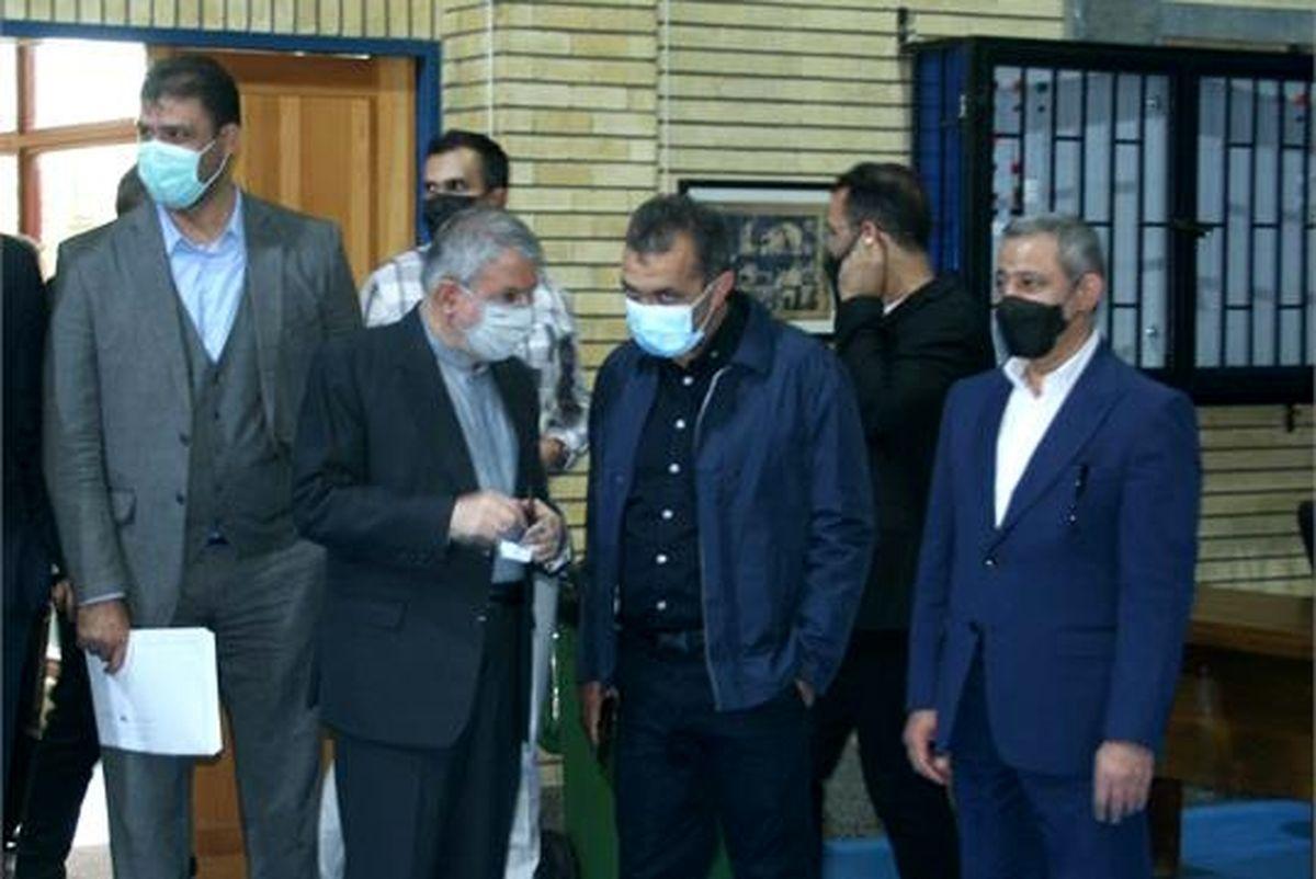 بازدید رئیس فراکسیون ورزش مجلس شورای اسلامی از امکانات آکادمی ملی المپیک