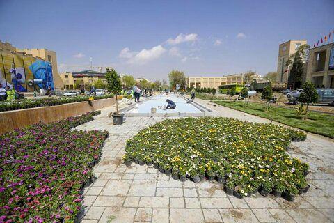 خیابان سپه پیاده راه می شود/هزینه 13میلیاردی سنگفرش میدان امام حسین (ع)