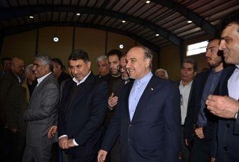 افتتاح  پروژه های ورزشی استان البرز با حضور وزیر ورزش و جوانان