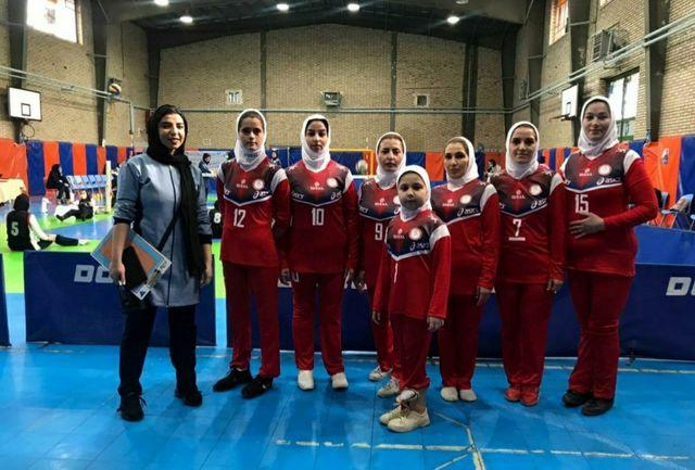 شکست تیم والیبال نشسته بانوان شهرداری ارومیه