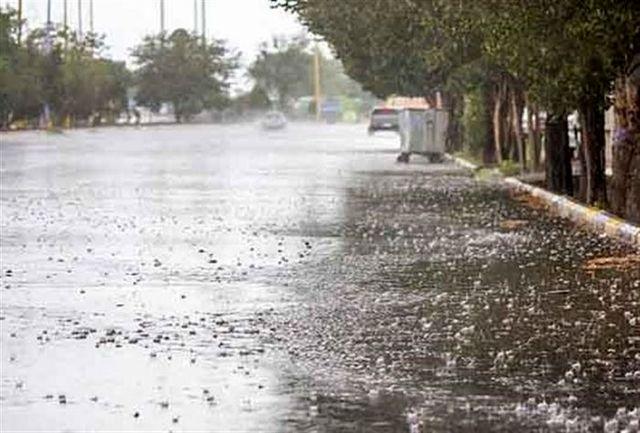 رگبار های نقطه ای و احتمال وقوع سیلاب های ناگهانی از امروز