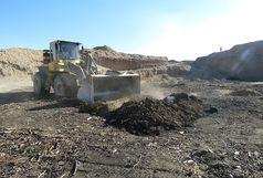 تخریب 35 حلقه چاه ذغال در بیابان های اطراف شهر قم