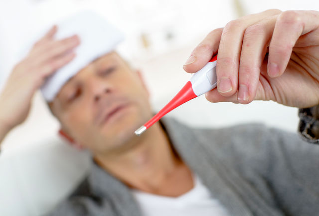 به هنگام تب ،خوردن لبنیات ممنوع!
