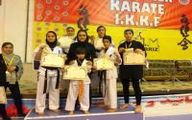 درخشش دختران کاراته مشگین شهری با 5 طلا و یک نقره