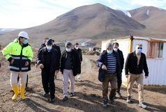 1450 متر تا پایان پروژه انتقال آب از سد کانیسیب به دریاچه ارومیه