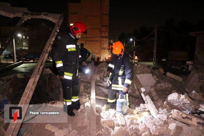 جزئیات انفجار بزرگ منزل مسکونی خیابان رباط