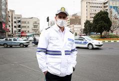 قاطعیت پلیس در انجام ماموریتهای سازمانی در طرح کاهش زنجیره کرونا