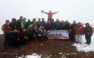 صعود گروه کوهنوردی قارتال ساوالان به قلعه قهقه