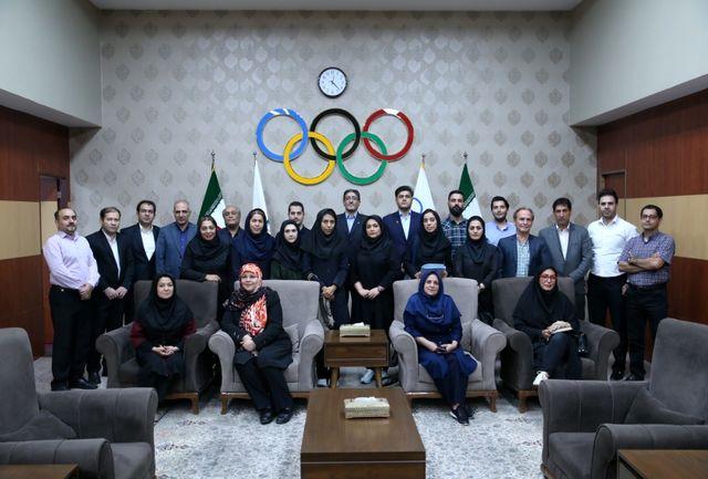برگزاری نشست مشترک کمیسیون محیط زیست و ورزش با مسئولان کمیته زیست فدراسیون های ورزشی