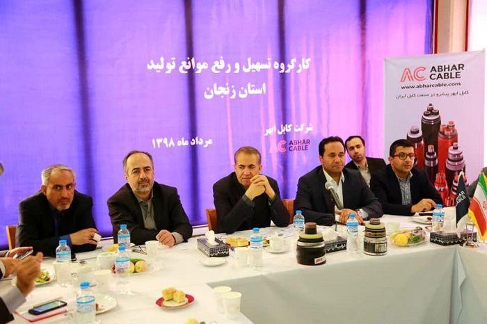 اولویت دولت در زنجان، احیای واحدهای تولیدی غیرفعال است