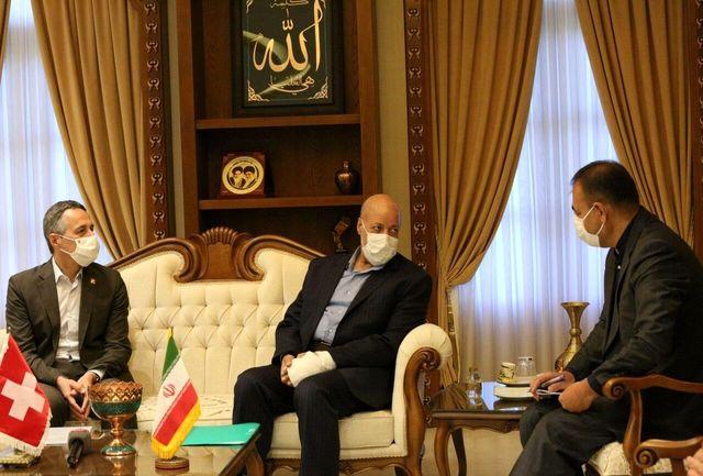 اصفهان ظرفیت خوبی برای توسعه مناسبات ایران و سوییس دارد