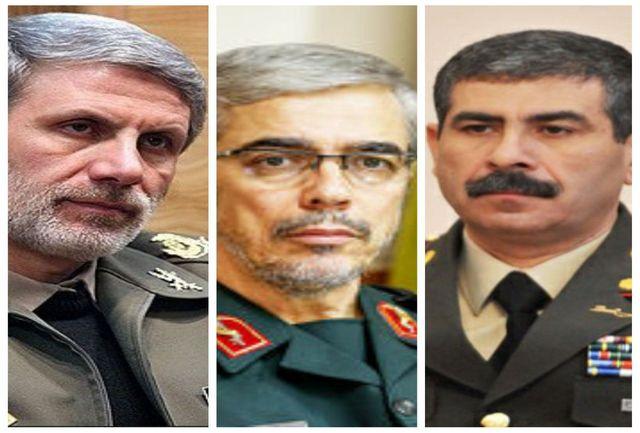 وزیر دفاع جمهوری آذربایجان ترور شهید فخریزاده را محکوم کرد