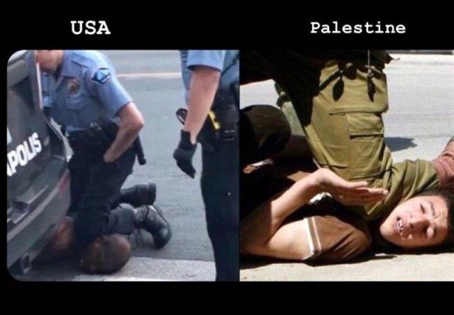 مروری بر مشابهت های قتل کم هزینه فلسطینیان توسط نیروهای اسرائیلی با قتل جرج فلوید