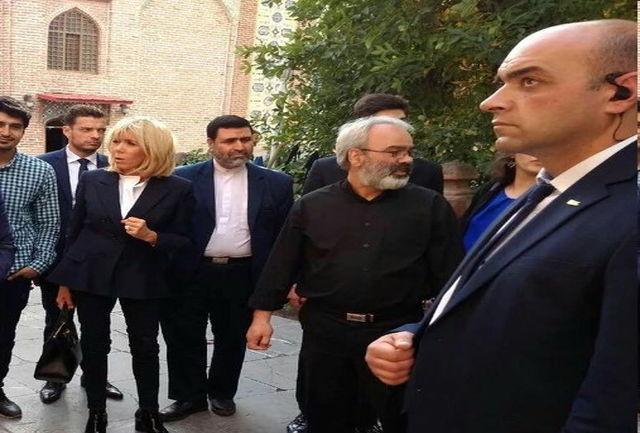 بازدید همسر رئیسجمهور از مسجد ایرانی ایروان
