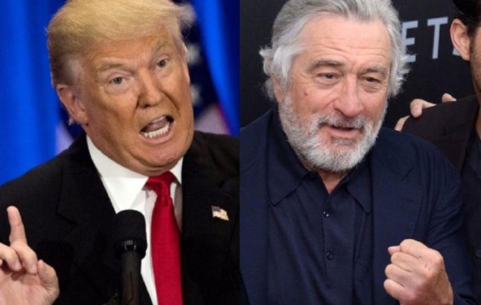 انتظار رابرت دنیرو برای زندانی شدن ترامپ