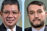 وزیر امور خارجه مالزی به امیرعبداللهیان تبریک گفت