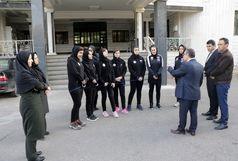 اعزام تیم آذربایجانغربی به مسابقات موی تای بانوان المپیاد استعدادهای برتر ورزش کشور