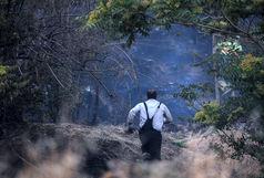 آتش گرفتن دوباره جنگل ابر طی چند روز !