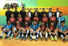 برتری تیم فوتسال تربت جام به لیگ کشوری
