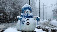 باران و برف در راه کهگیلویه و بویراحمد