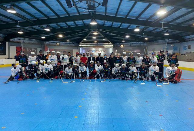 پایان مرحله دوم اردوی تیم ملی جوانان اینلاین هاکی